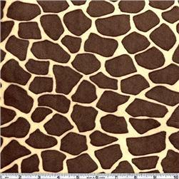 Giraffe Butter-Brown $13.98yd