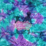 Frozen Illusion tie dye minky