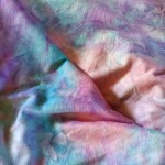 Tie Dye Minky Fabric